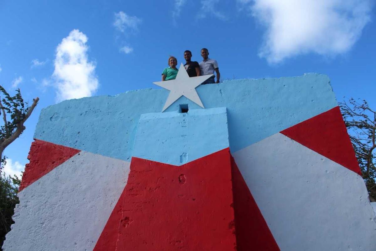 Loiza Inaugura La Bandera 46 De Hector Collazo Regionales