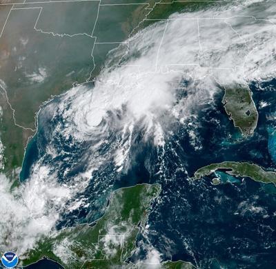 La tormenta tropical Beta avanza hacia Texas y Luisiana