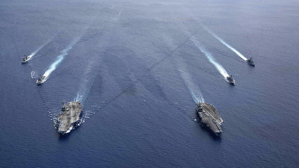 Estados Unidos rechazará reclamos marítimos de China