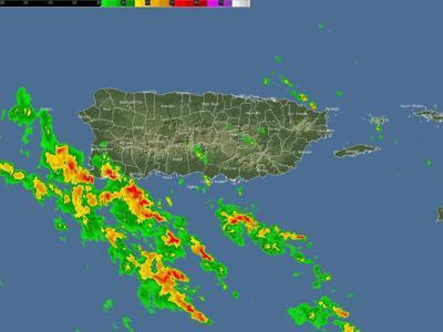 Bandas de lluvias asociadas al huracán Elsa afectan al sur y suroeste de la Isla