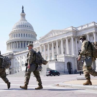 EEUU: Piden mantener dos meses más la seguridad en el Capitolio