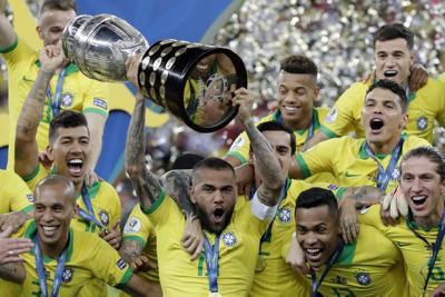 Brasil somete a Perú y gana la Copa América