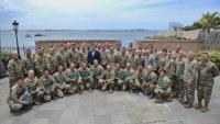 Condecoran soldados de la Guardia Nacional