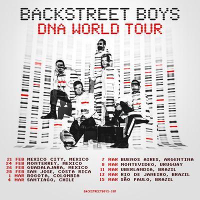 Los Backstreet Boys anuncian gira por Latinoamérica