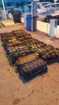 FURA ocupa 21 fardos de cocaína en Patillas