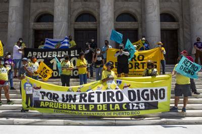 Ley Retiro Digno, Manifestacion, Marcha