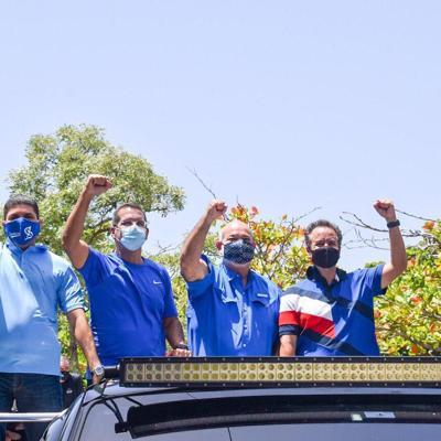 "Pierluisi lidera masivo ""rally"" por San Juan"