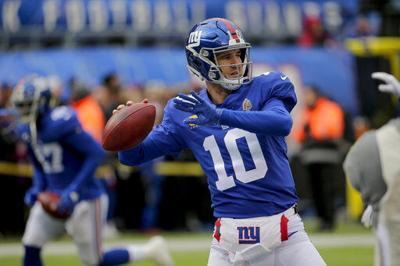 Manning lanza para 2 touchdowns; Giants cortan mala racha