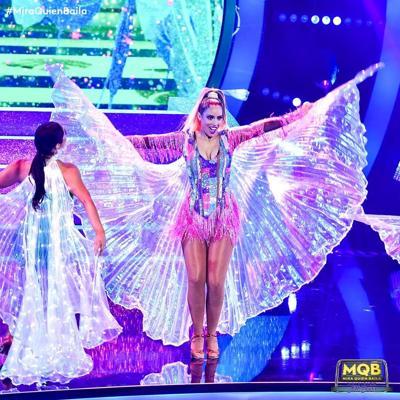 Aleyda Ortiz es la favorita del público en final de Mira Quién Baila