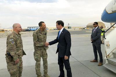 Secretario de Defensa de EEUU llega a Afganistán
