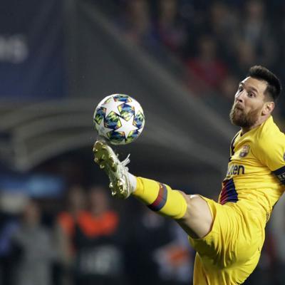 FC Barcelona sufre para ganar en la Liga de Campeones