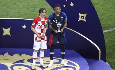 Luka Modric conquista el Balón de Oro del Mundial