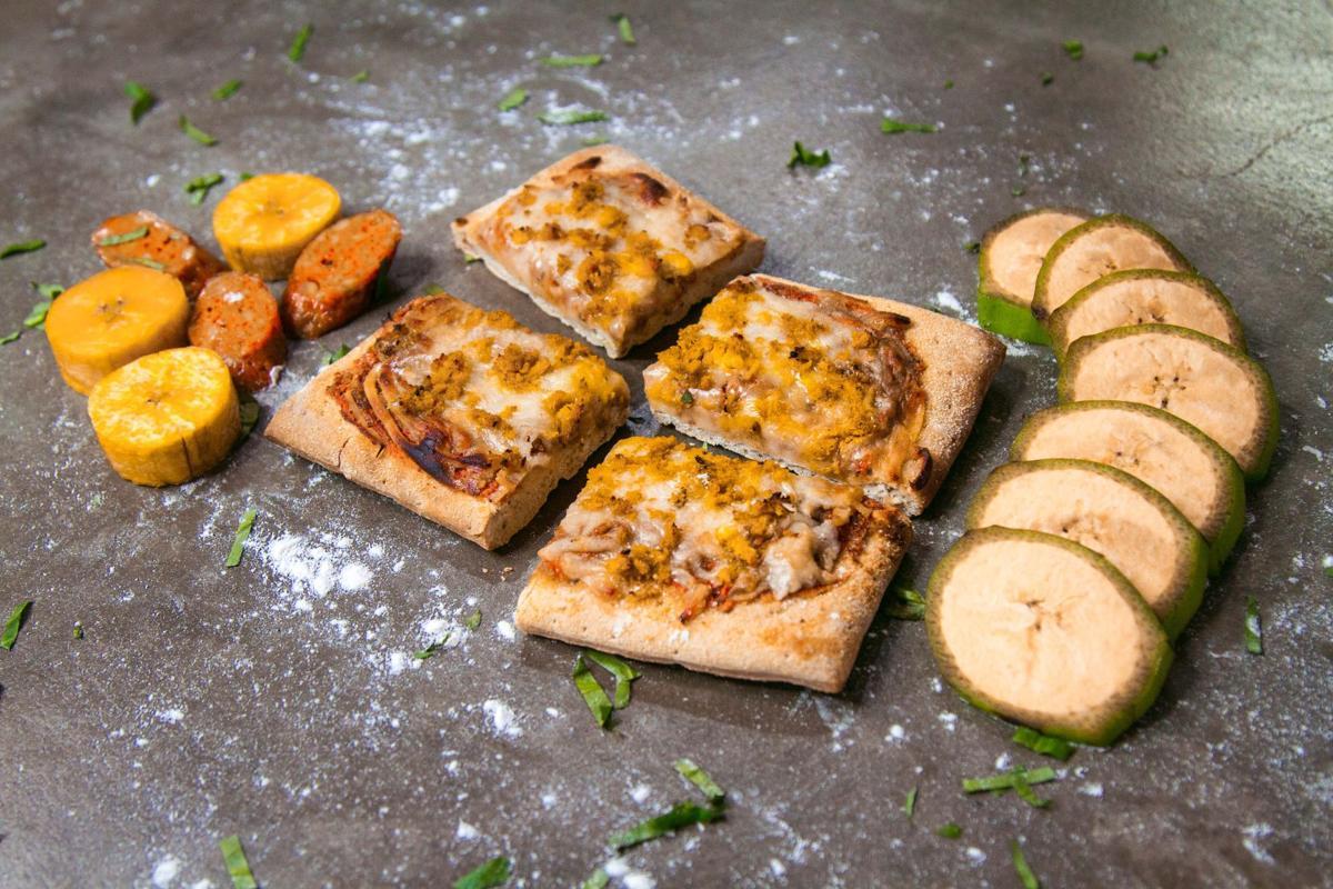 Lanzan al mercado primera pizza de plátano | ACTUALIDAD | elvocero.com