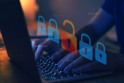 hacker attack, cyber crime concept