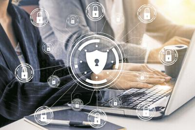 Cyber Security and Digital Data Protection Concept