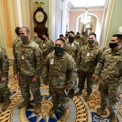 Guardia Nacional se prepara para posibles disturbios durante juicio de Trump