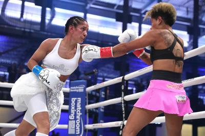 Amanda Serrano se lleva victoria en Miami