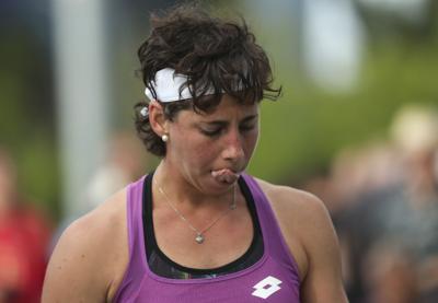 Multan a tenista española por falta de esfuerzo