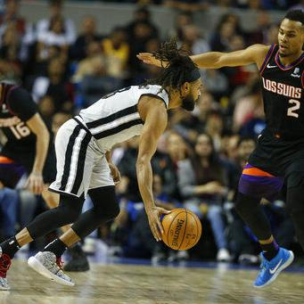 Tras 1ra prórroga en México, Spurs vencen a Suns