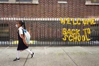 Estudiantes post covid en las escuelas