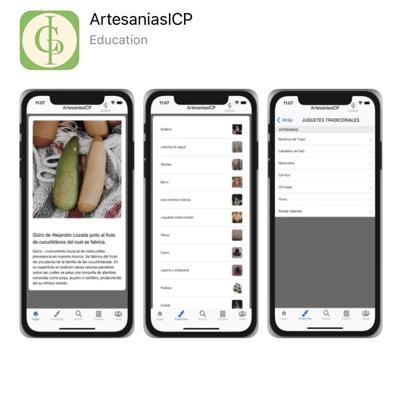 Artesanías al alcance de un app