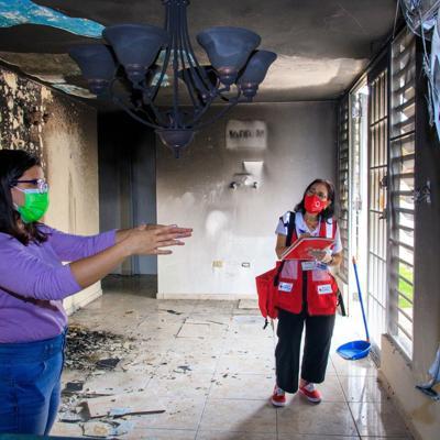 Cruz Roja atiende un promedio de 229 fuegos al año
