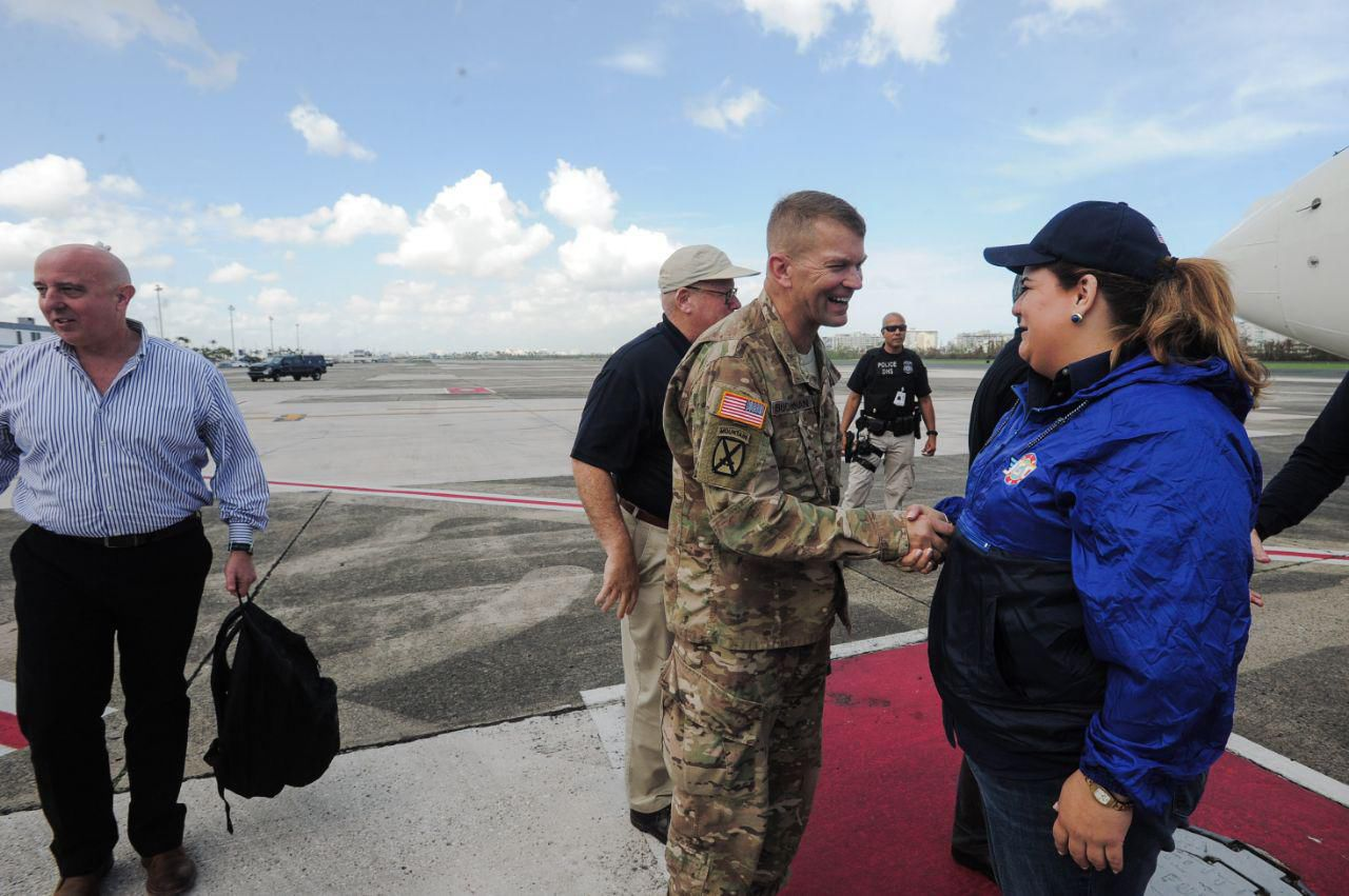 Trump: Devastación en Puerto rico desajustó nuestro presupuesto