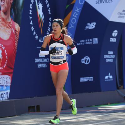 Beverly Ramos se prepara para correr por cuarta vez el Maratón de Nueva York