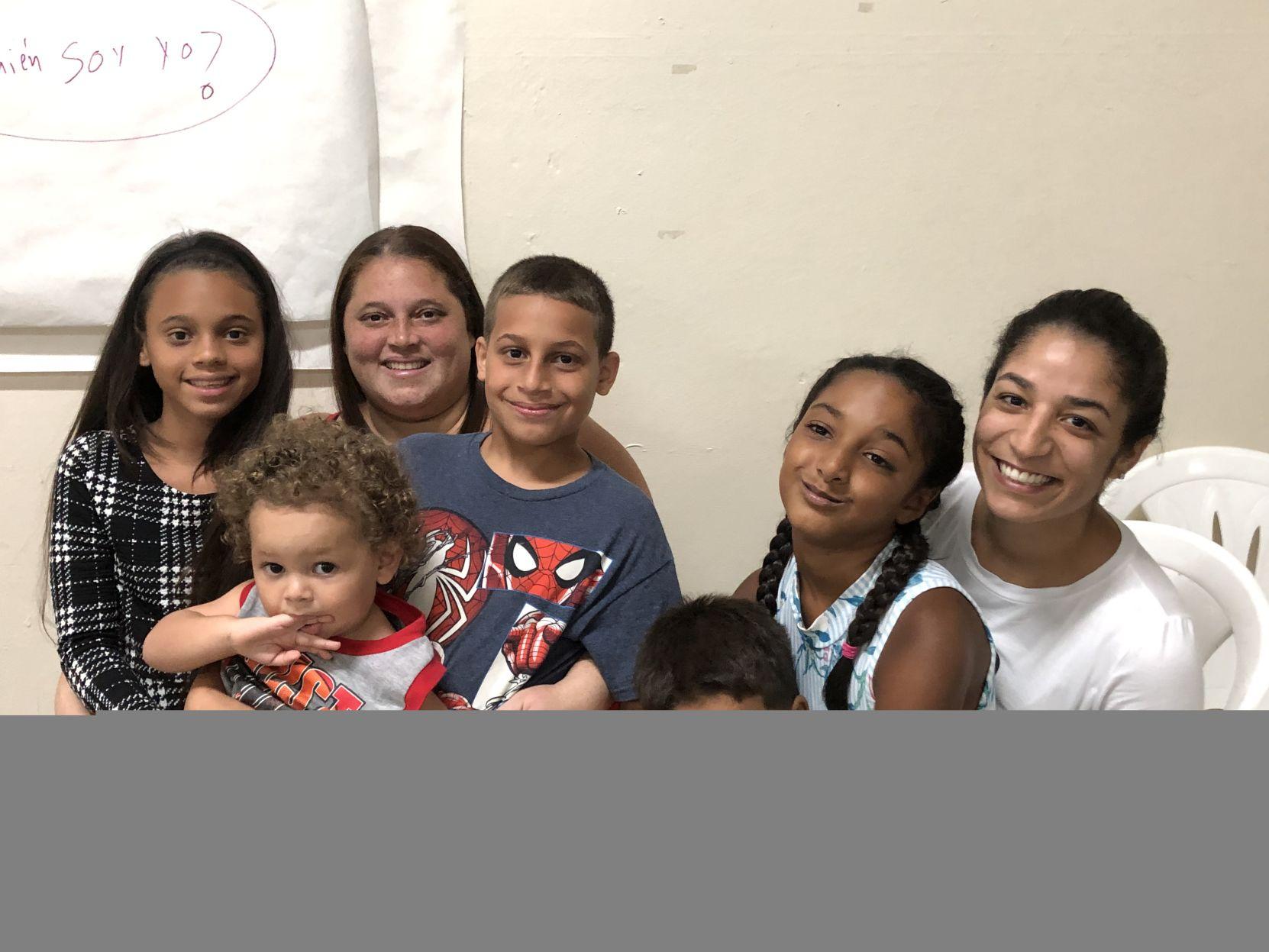 Niños encuentran espacio de sosiego en momentos de crisis