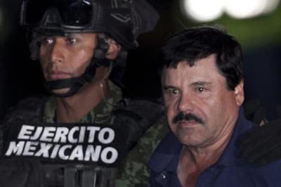 Joaquín 'El Chapo' Guzmán comparece ante un tribunal en EEUU