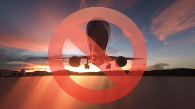Alerta roja para los viajeros