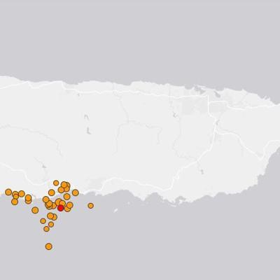 Continúa disminuyendo la probabilidad de un sismo mayor de 6.4