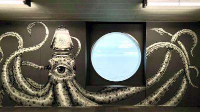 El boricua Alexis Díaz, elegido para ambientar con sus murales el crucero más moderno del mundo