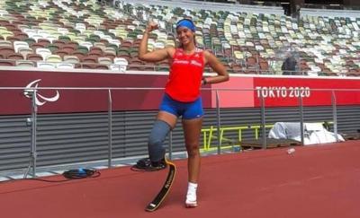 Yaimillie Díaz Colón se despide de los Juegos Paralímpicos con otra marca personal