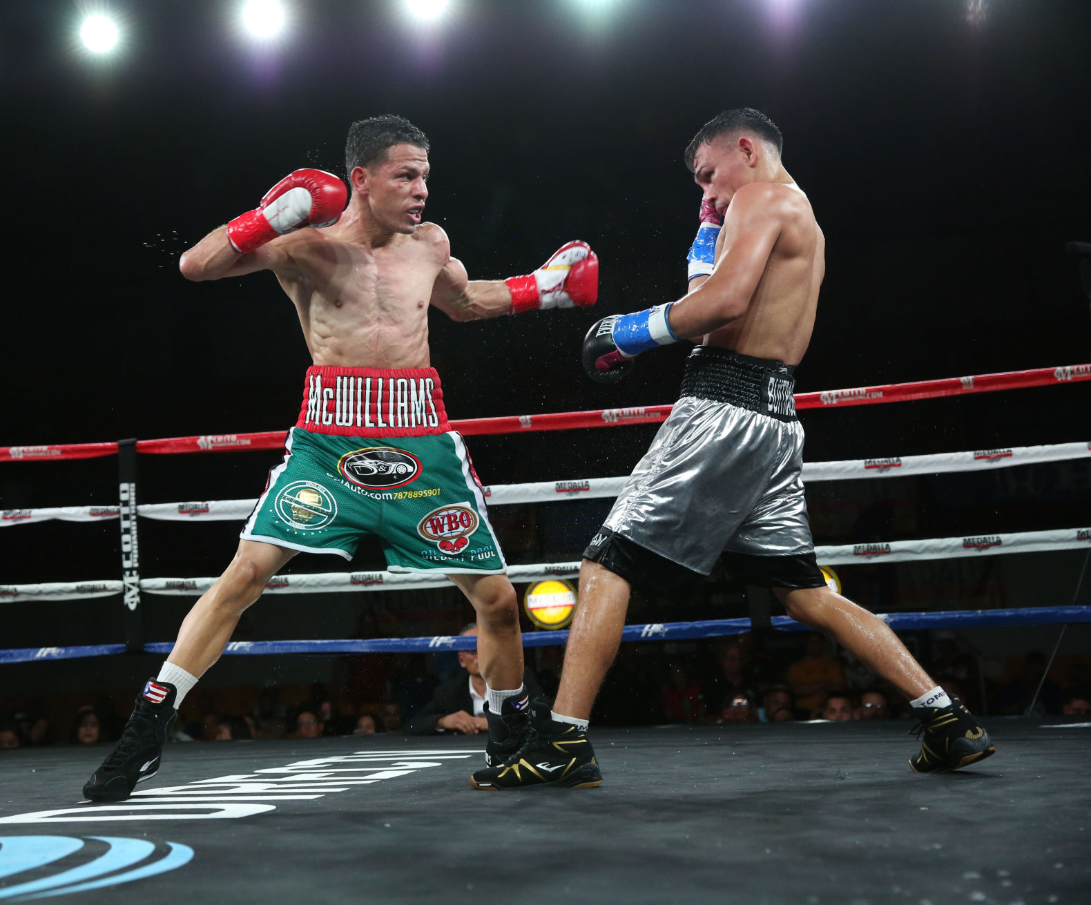 McWilliams Arroyo quiere ir por un título mundial