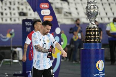 Homenaje a Maradona antes de partido en Copa América