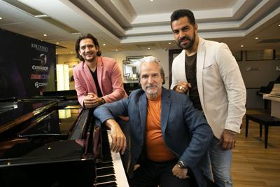 Los Tres Pianistas armonizan desde el rock hasta lo urbano en su nuevo show