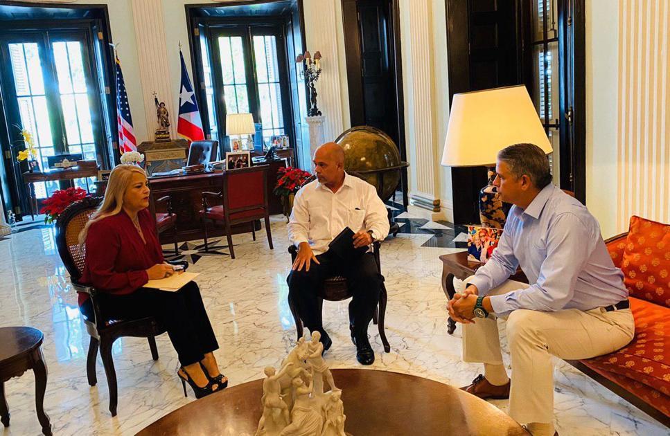 Gobernadora se reúne con expertos en sismos