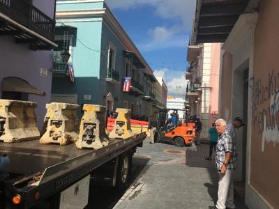 Refuerzan seguridad en Viejo San Juan