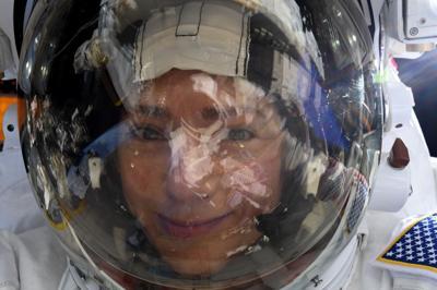 Una increíble selfie desde el espacio
