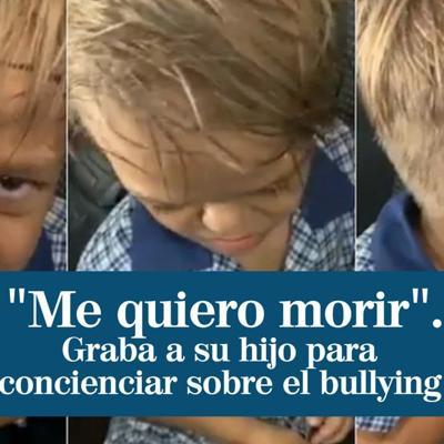"""""""Me quiero morir"""": las duras palabras diarias de un niño que sufre bullying a su madre"""