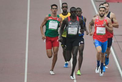 Wesley Vázquez y Ryan Sánchez avanzan a la final de 800 metros