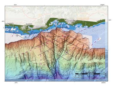USGS detecta falla submarina en Bahía de Guayanilla