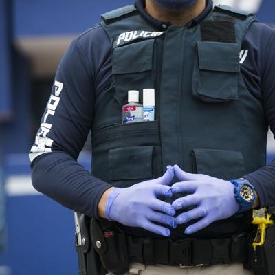En cuarentena más de 100 agentes de la Policía