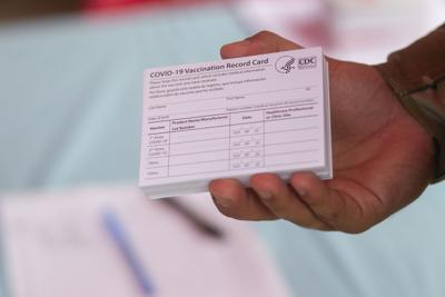 Vacunación, Coronavirus, Guardia Nacional, Johnson & Johnson, Tarjeta vacunación