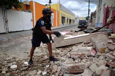 Recorrido por Ponce luego de temblor de 5.4