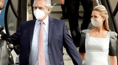 Anuncian que el presidente de Argentina será padre a los 62 años