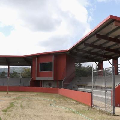 Casi listo el parque de béisbol de Guavate en Cayey