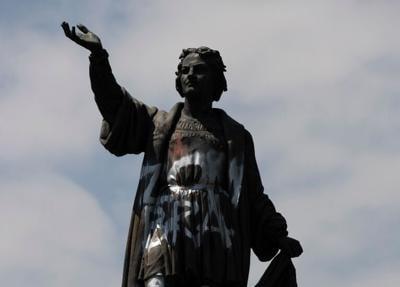 México retirará una estatua de Cristóbal Colón
