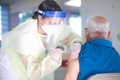 Vacunación contra Covid-19 en Vieques